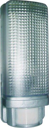 Smartwares Wandleuchte für den Außenbereich mit Bewegungssensor, aluminium ES88A_SW