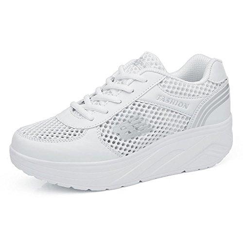 Jensen   Jensin Ladies Sneaker Scarpe Sportive Comode Per Il Tempo Libero Da  Corsa be85409898f