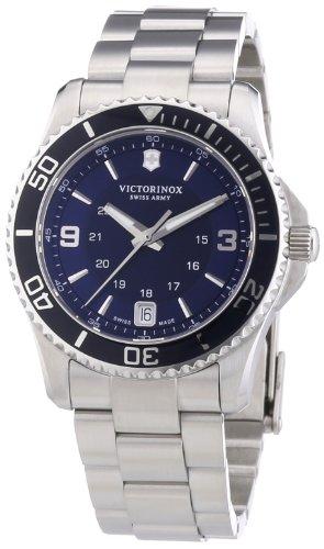 Victorinox Swiss Army Damen-Armbanduhr XS Maverick Analog Quarz Edelstahl 241609