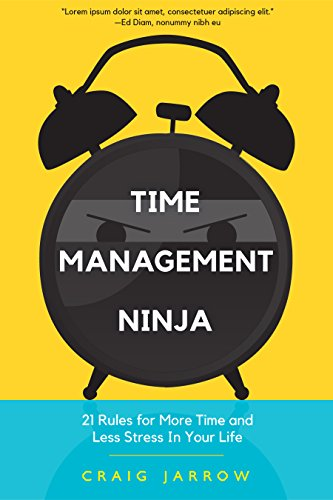 Time Management Ninja: 21 Rules for More Time and Less Stress in Your Life (English Edition)