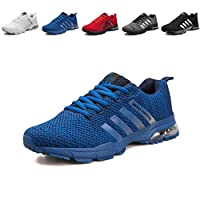 Mens Trainers Causal Lightweight Lace up Road Running Shoes Mens Athletic Footwear