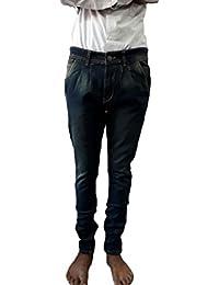 Style Rocks Men's Casual Cotton Regular Fit Jeans (SRJ-08_Blue)