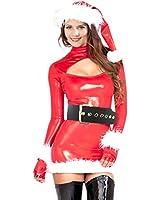 H:oter® Women's Sexy Secret Santa Costume/Mrs Miss Christmas Santa Fancy Dress Costume Outfit