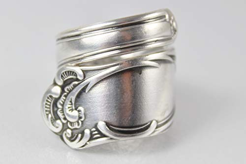 Rokoko Besteckschmuck Ring, ca. 59 (18,8) Ring aus Besteck