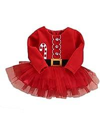 MEIHAOWEI Vestido de niña de las flores vestido de fiesta de la princesa Vestido