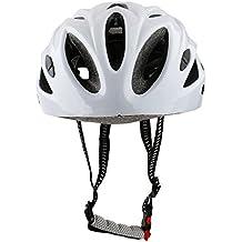 perfk Casco Protector Cómodo Conductos Traseros Color Hermoso Especial Ciclista Motorista Bicicleta