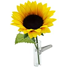 SANDINI Autovase/florero - decorar cualquier coche - incluyendo un girasol