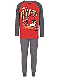 Angry Birds - Ensemble de pyjama - Garçon Rouge Rouge