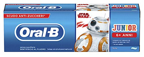 ORAL B DENTIFRICH JUNIOR STAR WARS 6+ JAHRE 75ml #BAMBINI
