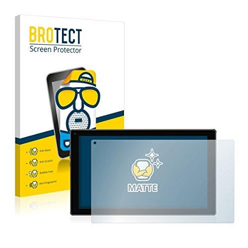 2X BROTECT Matt Displayschutz Schutzfolie für Blaupunkt Endeavour 101M (matt - entspiegelt, Kratzfest, schmutzabweisend)
