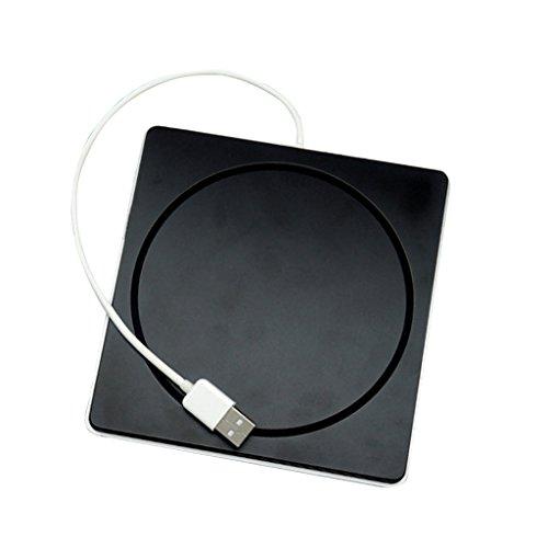 Sharplace Delgado USB 2.0 Ranura Externa En DVD CD Superdrive Quemador RW Caso Ahorro de Energía para Pro Macbook Air