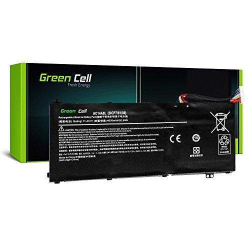 Green Cell® AC14A8L Laptop Akku für Acer Aspire Nitro V15 VN7 VN7-571G VN7-572G VN7-591G VN7-592G V17 VN7-791G VN7-792G VX 15 VX5-591 VX5-591G (Li-Polymer Zellen 4605mAh 11.4V Schwarz)