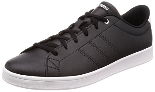 adidas Advantage Clean Qt, Scarpe da Tennis Donna, Nero Cblack/Ftwwht 000), 36 EU