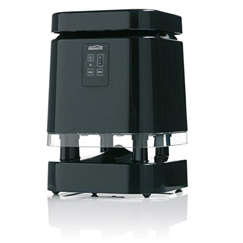 Marmitek 08133 BoomBoom 380 Outdoor Bluetooth Lautsprecher (Größe: XL) schwarz