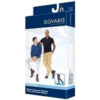 Sigvaris Men's Cotton Thigh High with Grip Top 30-40mmHg Closed Toe Long Length, Large Long, Crispa by Sigvaris preisvergleich bei billige-tabletten.eu