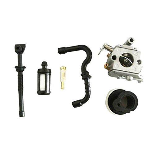 Jrl Carburatore filtro aria, per benzina, carburante, collettore, per STIHL 017 018 MS 170 180
