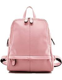 Mochila de viaje / escolar / bolsa de hombro de piel sintética para mujer / chica