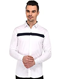 Lafantar Slim Fit Two Color Casual Shirt for Men
