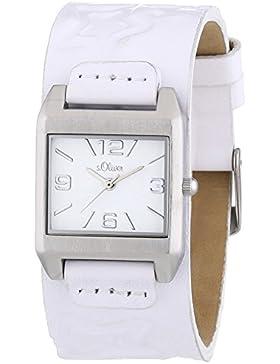 s.Oliver Damen-Armbanduhr Analog Quarz SO-2864-LQ