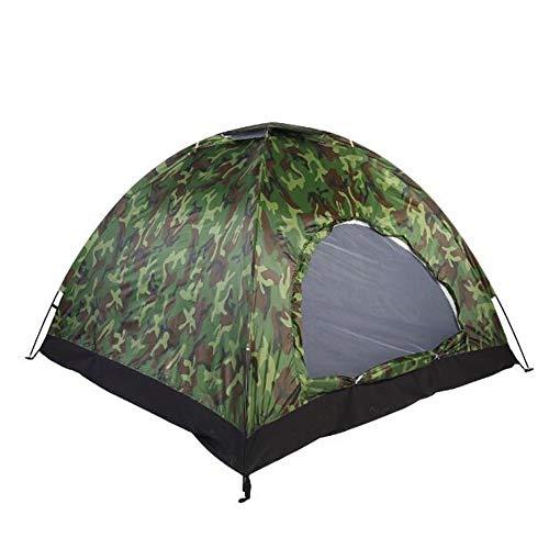 Sjzc tenda da campeggio portatile anti-zanzare camuffamento tenda esterna spiaggia campeggio escursionismo cupola durevole tenda da campeggio 1-2 persone