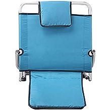 Respaldo Silla cama posición trasera fija da gran apoyo discapacidad movilidad ayuda,Blue