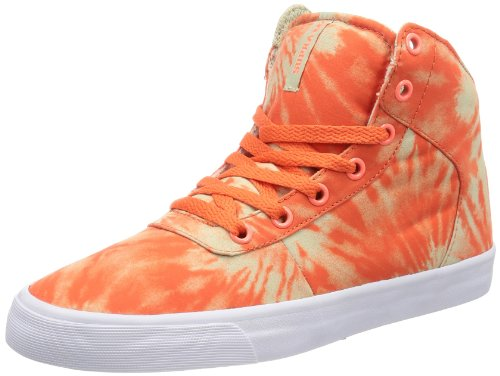 Supra WOMENS CUTTLER SW35002 Damen Sneaker Orange (NEON ORANGE / CEMENT - WHITE NCW)