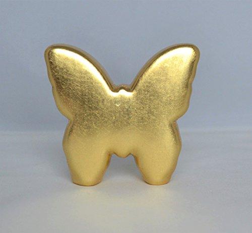 Vergoldeter Schmetterling, Dekofigur