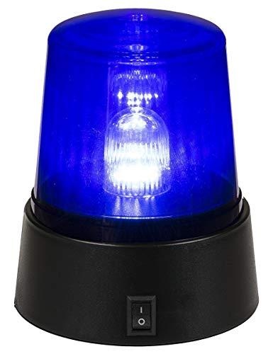 LED Signal Lampe décorative « Lumière bleue » Bleu Noir
