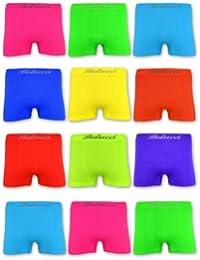 5   10   20 NEON Herren Boxershorts Microfaser Retro Shorts Belucci M L XL XXL - sockenkauf24
