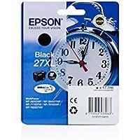 Ink cartridge Original Epson 1x Black C13T27114010 / 27 XL for Epson WorkForce WF-7610 DWF
