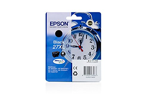 Preisvergleich Produktbild Epson WorkForce WF-7610 DWF - Original Epson C13T27114010 /27XL Tinte Black -