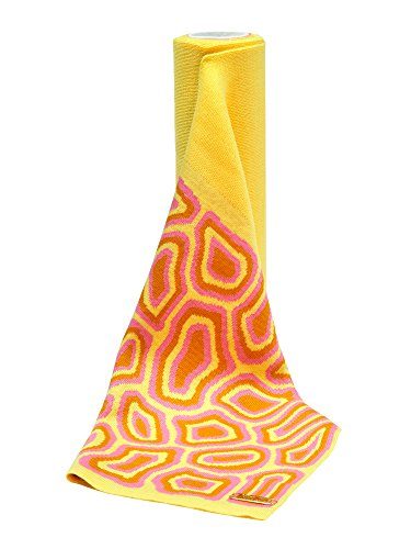 TATI BODUCH - Ensemble bonnet, écharpe et gants - Femme yellow- pink