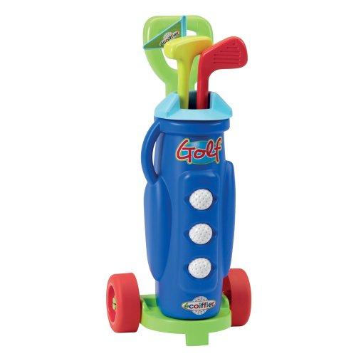 Kinder Golfset mit Trolley Spielzeug Golfspiel Garten Golfschläger Golf Spielset