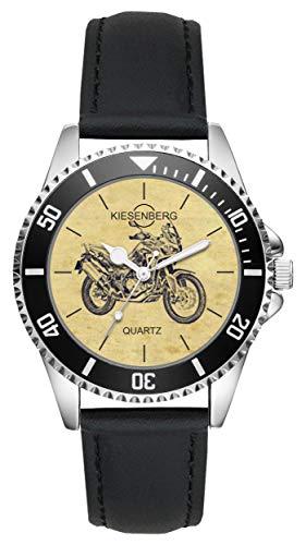Geschenk für Honda Africa Twin CRF 1000 Motorrad Fahrer Fans Kiesenberg Uhr L-20448