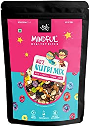EAT Anytime Mindful Healthy Trail Mix Snack for Kids with Protein Rich Mix Nuts, Oat & Fruit Loops,