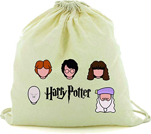 DrMugCollection Mochila Harry Potter Faces