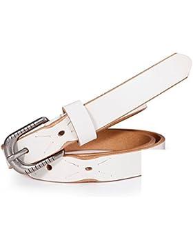 Cinturón Decorativo Simple/Cinturón Del Comodín De Moda-blanco 95cm(37inch)