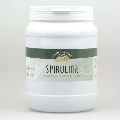 Spirulina Algen Pulver 100% rein ohne Zusätze, Lebensmittelqualität 1 kg Dose
