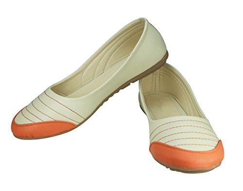 BELLIES FLAT MULTI COLOUR SMART FOOTWEAR (39)
