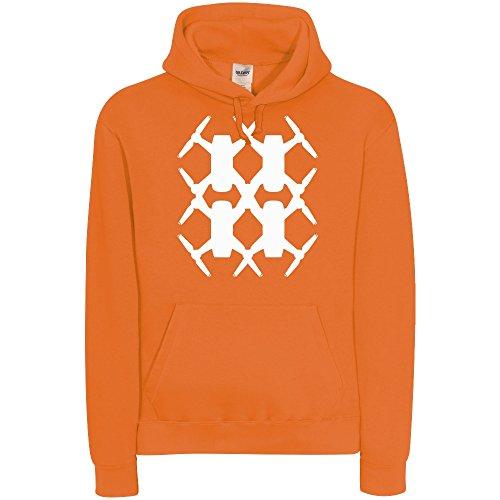 Preisvergleich Produktbild Spark Hash # - Hoodie, orange, Gr. XXL