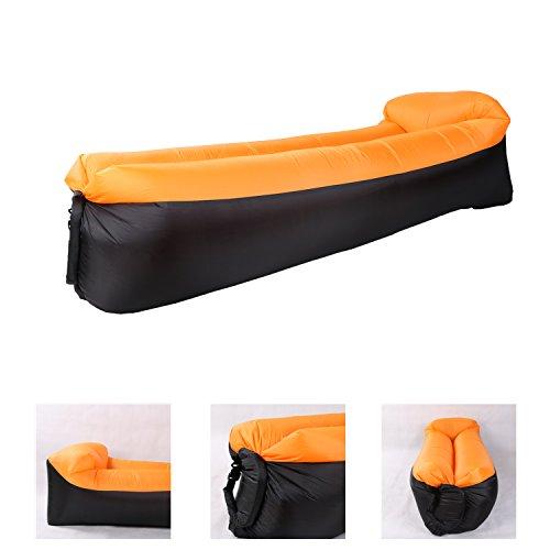 Saibit Aufblasbares Sofa, Wasserdichtes Sitzsack Wasserdichtes Air Lounger aufblasbare Couch Outdoor...