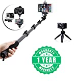 Best Iphone 6 Plus Selfie Sticks - Flavo 360 Degree Rotating Bluetooh Remote Selfie Monopod Review