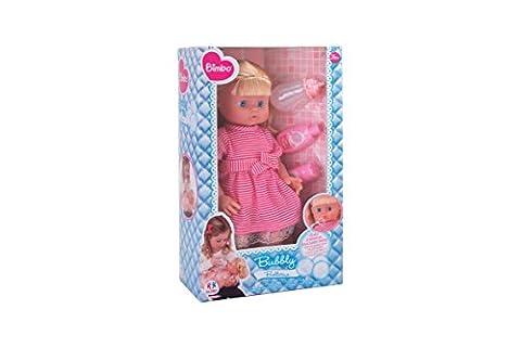 Globo Toys Globo–3734940cm Bimbo sprudelnd Blase Puppe mit Zubehör