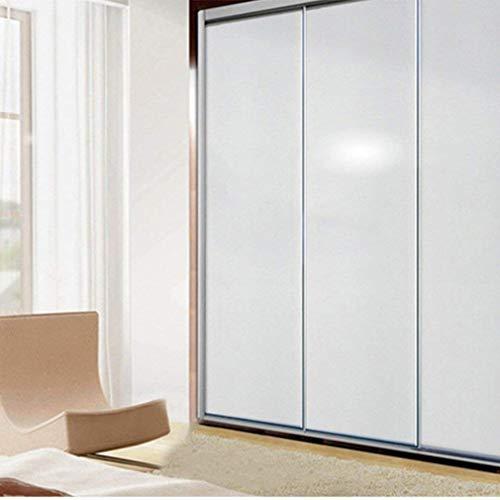 Duoue 5Mx61cm PVC Selbstklebend Möbelfolie küchenschrank Aufkleber Schrankfolie Klebefolie Silber Glanz