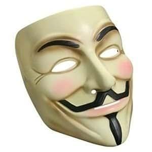 """Lot de 3 Masques de Guy Fawkes """"V pour Vendetta"""""""