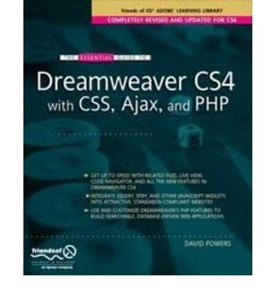 The Essential Guide to Dreamweaver CS4 with CSS, Ajax, and PHP (Essentials) (Paperback) - Common