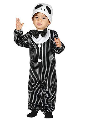 Magic Box Int. Babygröße Halloween Jack Skellington Style Kostüm Baby 6-12 Months
