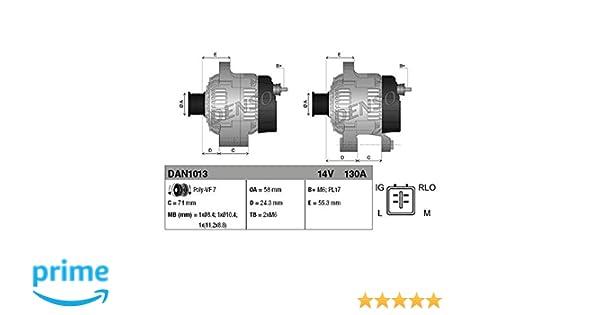 Denso DAN1015 Lichtmaschine