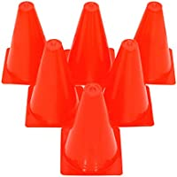 Grazzo - Rotuladores resistentes y duraderos de 15,2 cm, color rojo