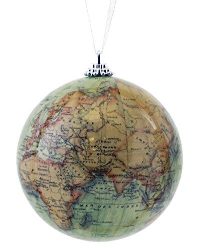 Caffco Antik Old World Map Globe Hänger Weihnachten Ornament